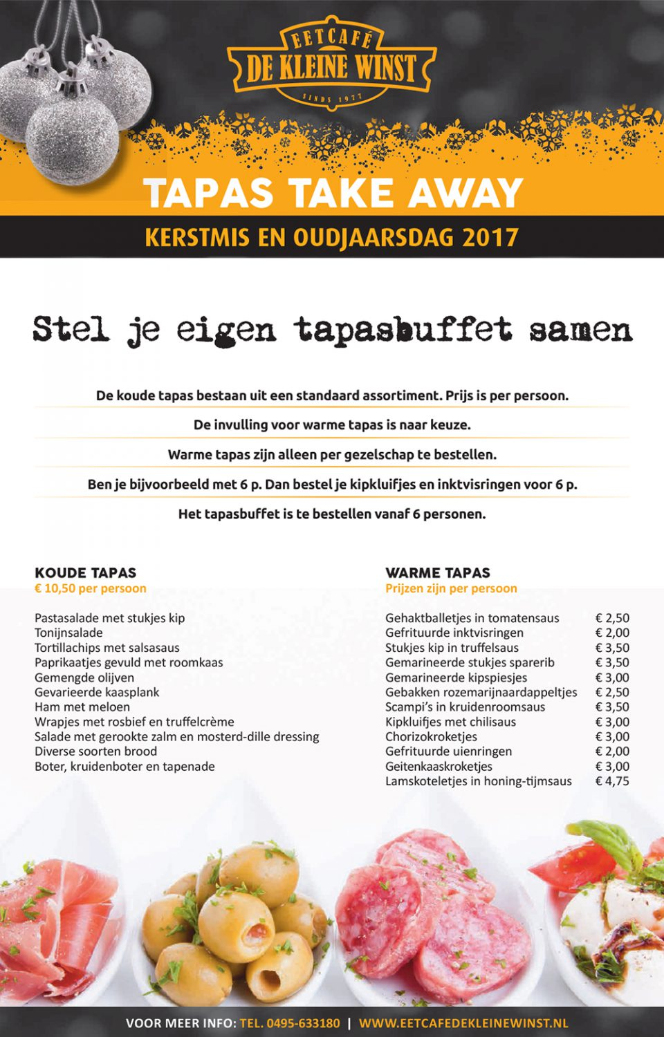 Tapas Take away 2016