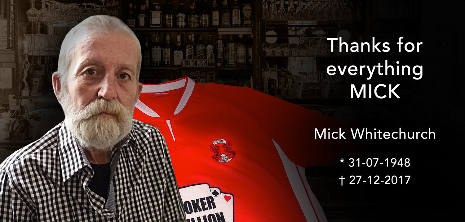 Thanks for everything MICK